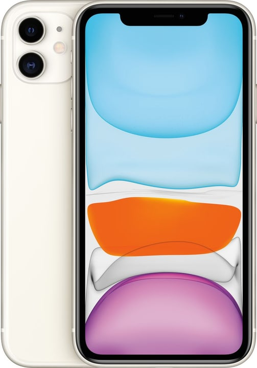 iPhone 11 64GB White Smartphone Apple 794643700000 Couleur blanc Photo no. 1