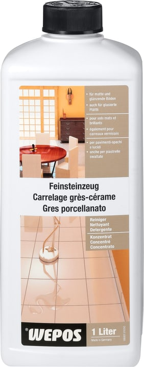 Detergente concentrato per grès ceramico Wepos 661451200000 N. figura 1