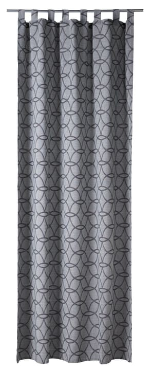 OPHELIA Fertigvorhang blickdicht 430265321880 Farbe Grau Grösse B: 150.0 cm x H: 260.0 cm Bild Nr. 1