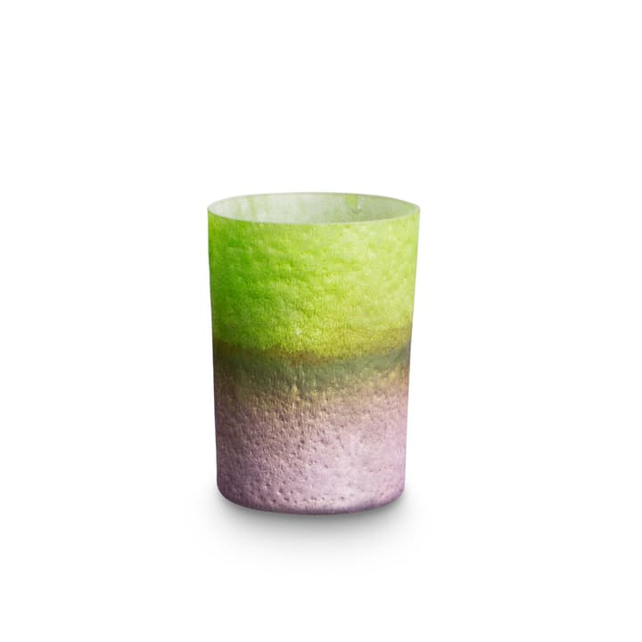 TELY Windlicht 390042100000 Grösse B: 10.0 cm x T: 10.0 cm x H: 7.5 cm Farbe Hellgrün Bild Nr. 1