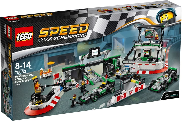 Lego Speed Champions MERCEDES AMG PETRONAS Formula One Team 75883 748857800000 Photo no. 1