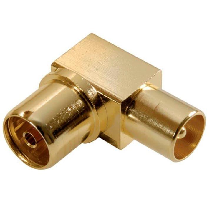 Koaxial Winkeladapter Antennen Adapter Vivanco 770779600000 Bild Nr. 1