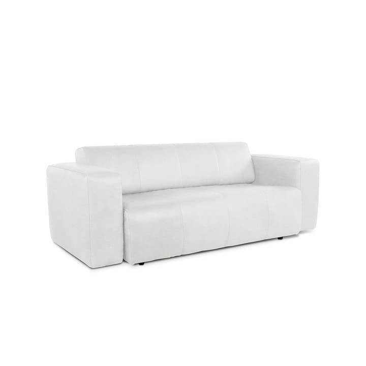 CAMP divano in pelle da 2.5 posti con motore 360020861607 Dimensioni L: 217.0 cm x P: 100.0 cm x A: 70.0 cm Colore Bianco N. figura 1