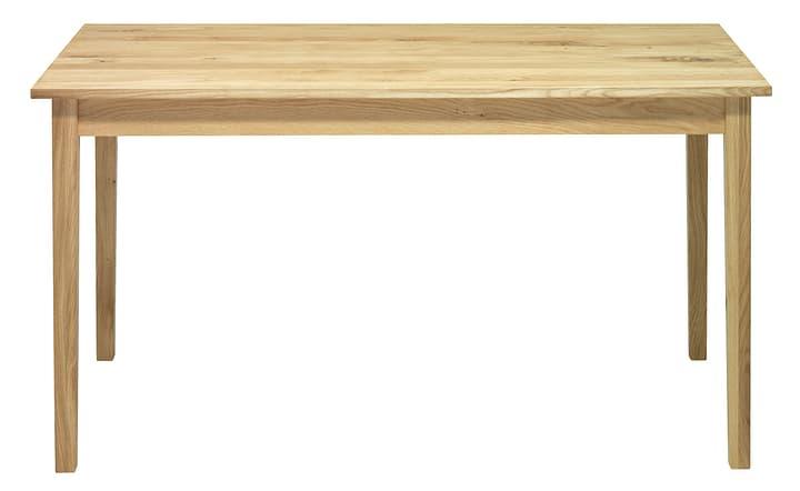 SILVA Table de cuisine 402226614014 Dimensions L: 140.0 cm x P: 75.0 cm x H: 74.0 cm Couleur Chêne brut Photo no. 1