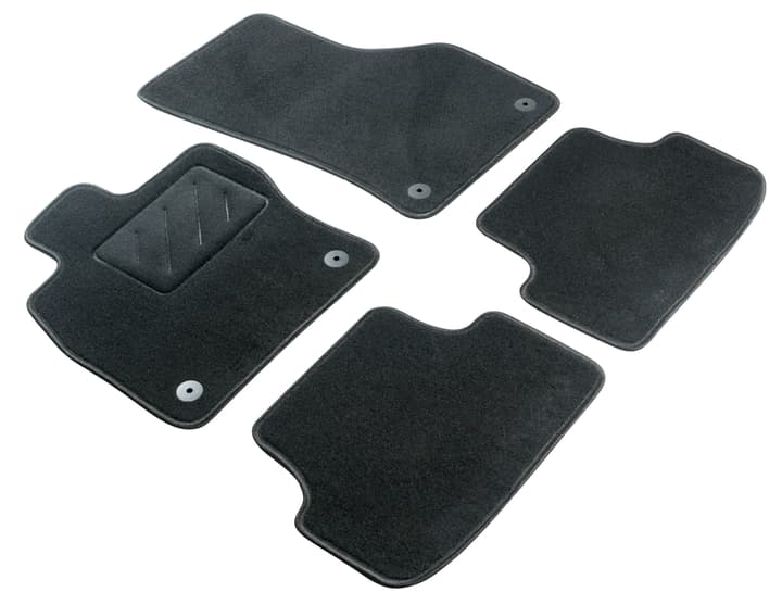 Set de tapis de voiture standard RENAULT Tapis de voiture WALSER 620319200000 Photo no. 1