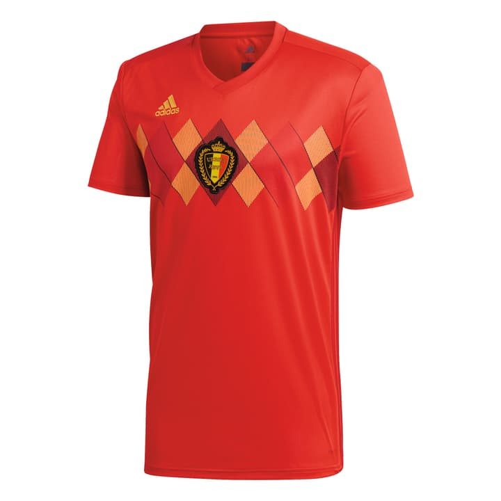 Belgium Home Jersey Fussball-Heim-Replika Belgien Adidas 498281200330 Farbe rot Grösse S Bild-Nr. 1