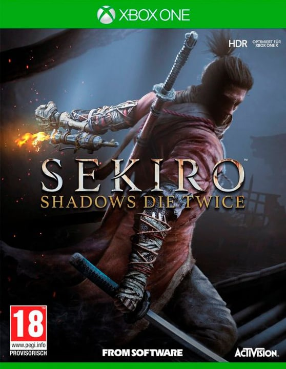 Xbox One - Sekiro: Shadows Die Twice Box 785300141221 Sprache Deutsch Plattform Microsoft Xbox One Bild Nr. 1