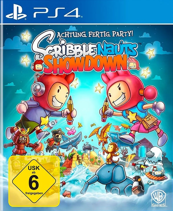 PS4 - Scribblenauts Showdown (D/F) Fisico (Box) 785300132259 N. figura 1