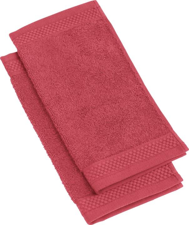 NEVA Waschlappen 2-teilig 450849720130 Farbe Rot Grösse B: 30.0 cm x H: 30.0 cm Bild Nr. 1