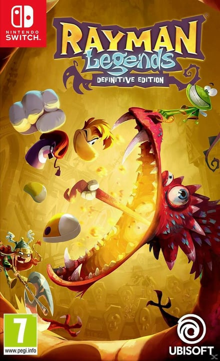 Switch - Rayman Legends - Definitive Edition Box 785300128775 Photo no. 1