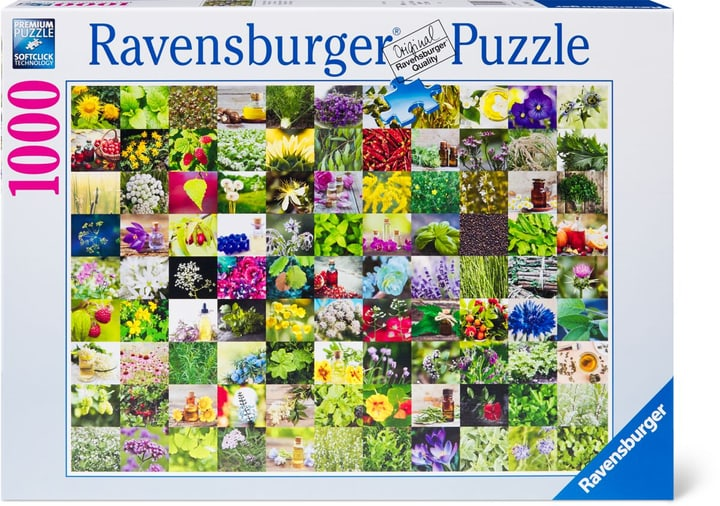 Puzzle Herbes 1000 748988600000 Photo no. 1