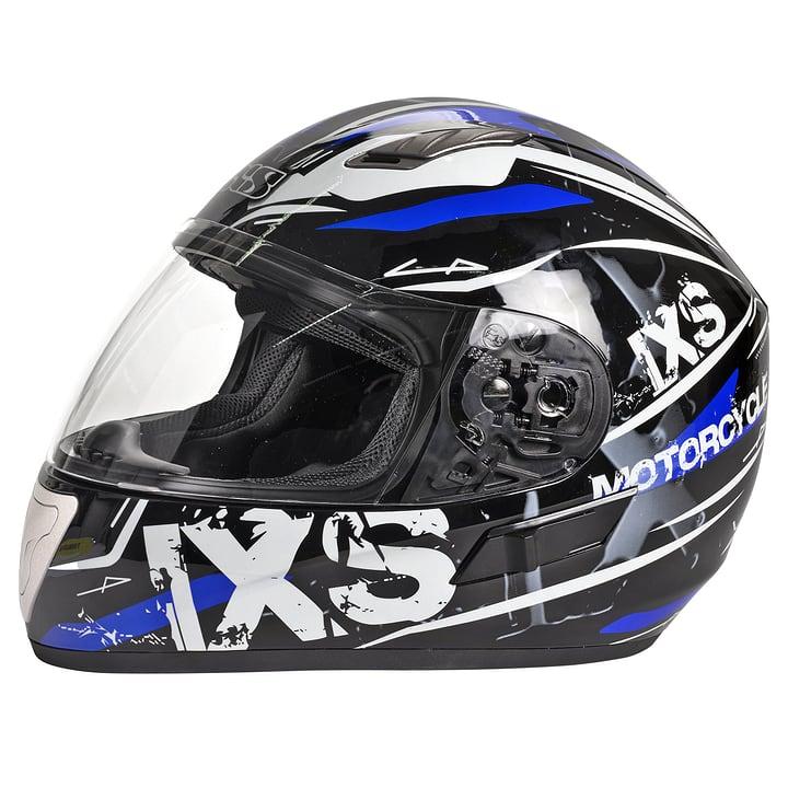 HX 1000 Strike Motorrad-Integralhelm Ixs 490313300340 Farbe blau Grösse S Bild-Nr. 1