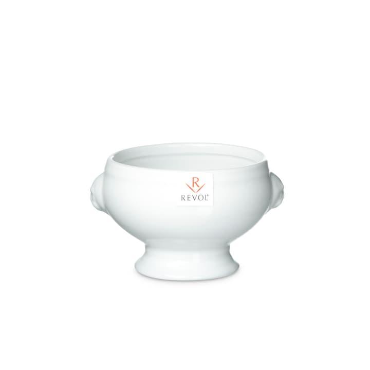 BLANCA Soupière Revol 393004405109 Dimensions L: 13.0 cm x P: 10.5 cm x H: 8.5 cm Couleur Blanc Photo no. 1