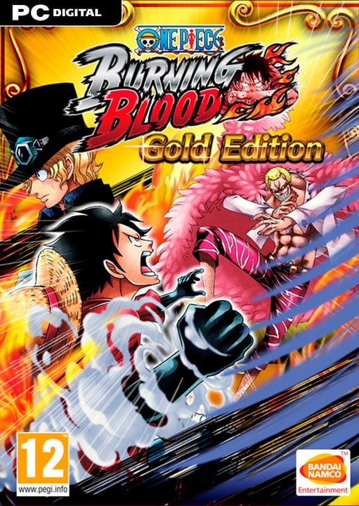 PC - One Piece Burning Blood - Gold Edition - D/F/I Digitale (ESD) 785300134421 N. figura 1