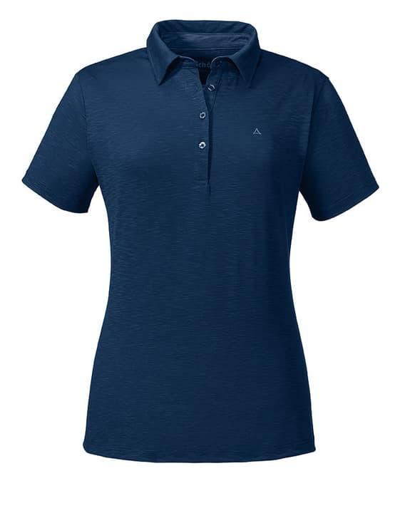 Capri Damen-Poloshirt Schöffel 462725704043 Farbe marine Grösse 40 Bild-Nr. 1