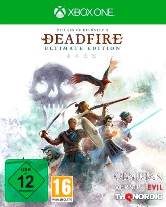 Xbox One - Pillars of Eternity II: Deadfire - Ultimate Edition F/I Box 785300148177 Photo no. 1