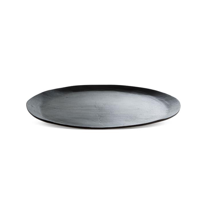 ORGANIC Kerzenteller 396029600000 Grösse B: 42.0 cm x T: 42.0 cm x H: 2.4 cm Farbe Dunkelgrau Bild Nr. 1