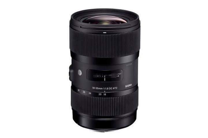 18-35mm f/1,8 DC HSM Canon-AF art Objektiv Sigma 785300126158 Bild Nr. 1