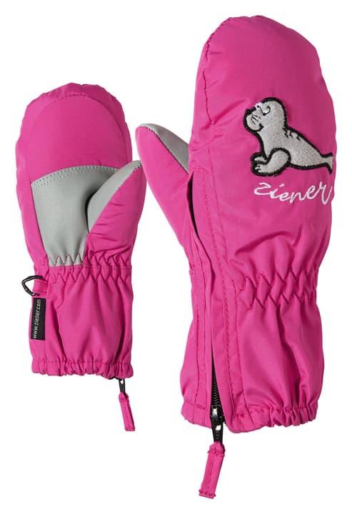 Moufles pour enfant Ziener 472346301529 Couleur magenta Taille 1.5 Photo no. 1