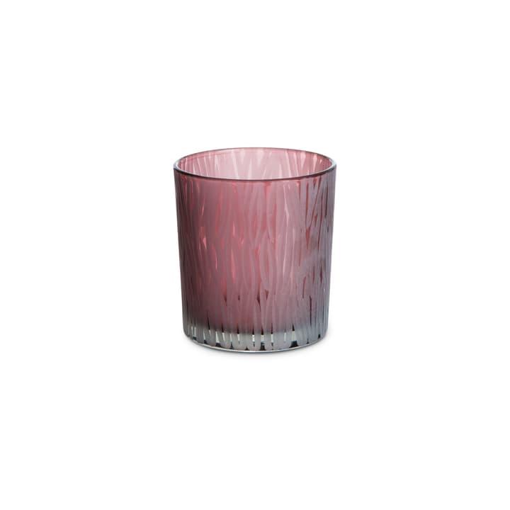 LIANA port-bougies 390242200000 Dimensions H: 8.0 cm Couleur Bordeaux Photo no. 1