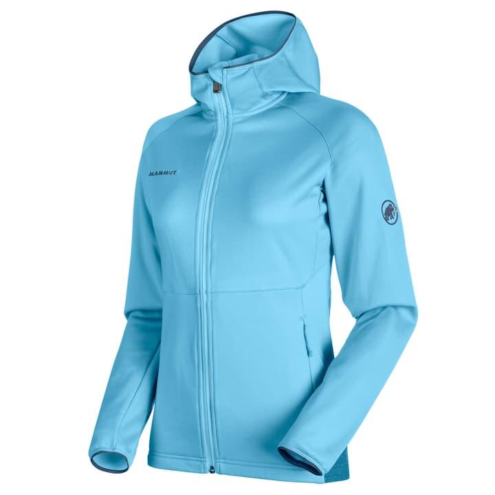 Get Away Hood Veste en polaire pour femme Mammut 462778200441 Couleur bleu claire Taille M Photo no. 1