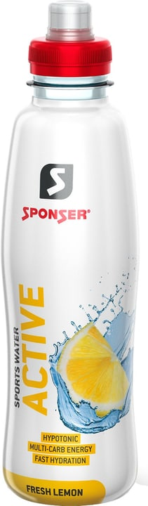 Sports Water Active Getränk Fresh Lemon 500ml Sponser 471989300000 Bild Nr. 1