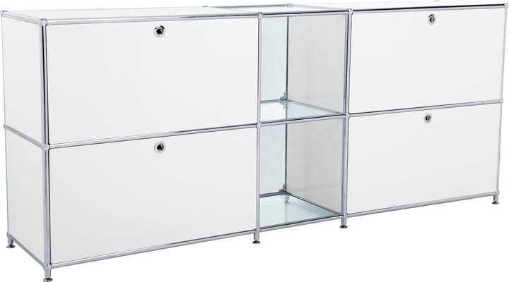 FLEXCUBE Buffet 401814320210 Dimensions L: 189.0 cm x P: 40.0 cm x H: 80.5 cm Couleur Blanc Photo no. 1