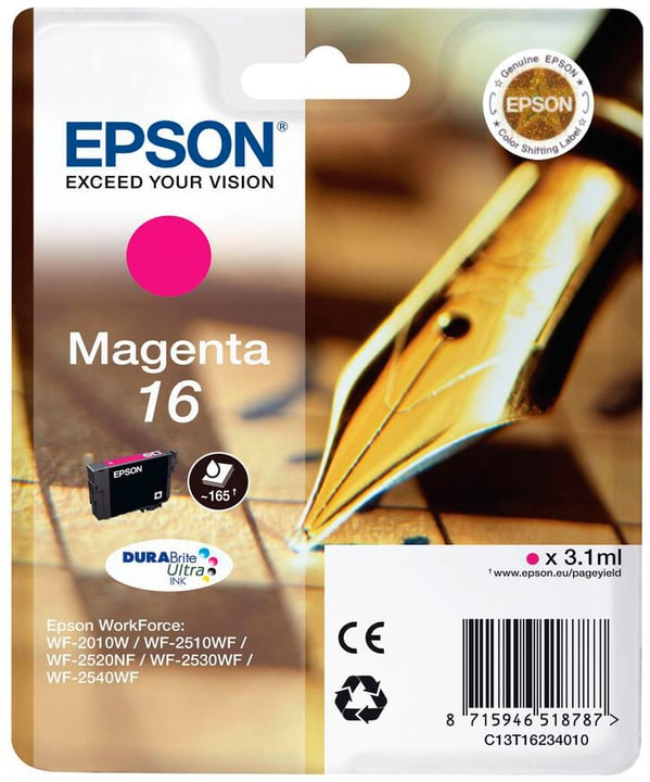 16 magenta Tintenpatrone Epson 796080400000 Bild Nr. 1