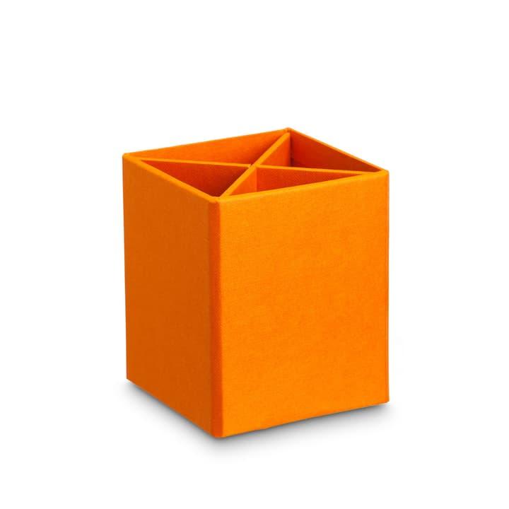 BIGSO CLASSIC Porte-Crayon 386158200000 Dimensions L: 11.5 cm x P: 11.5 cm x H: 10.0 cm Couleur Orange Photo no. 1