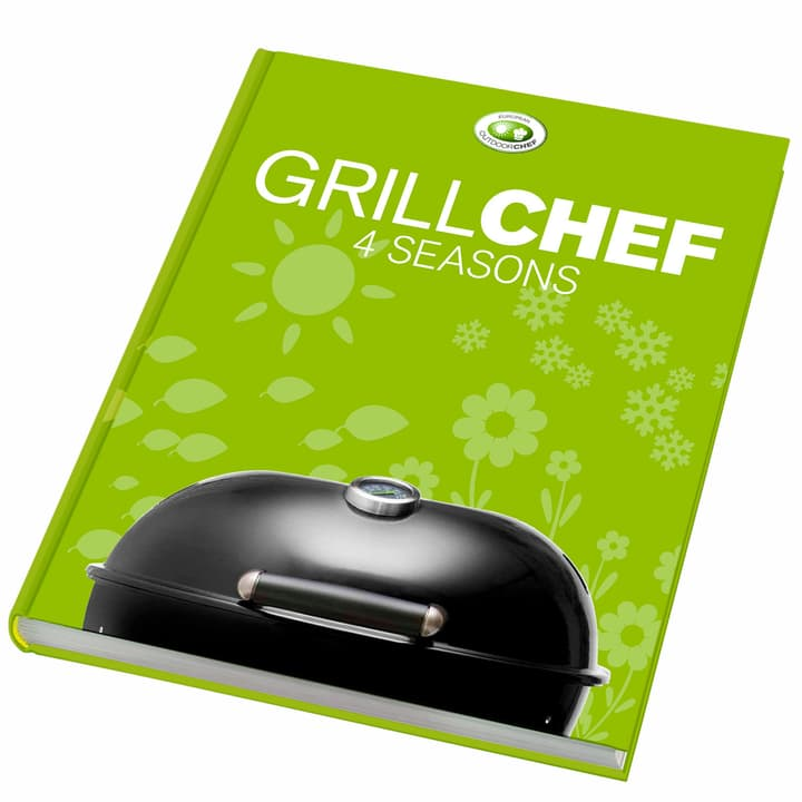 Libro «Grillchef 4 Seasons» (Tedesco) Outdoorchef 753510900000 N. figura 1