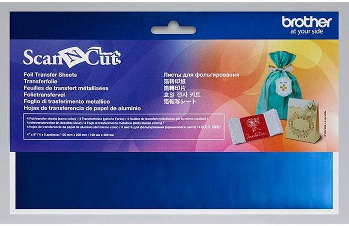 Papier de transfert ScanNCut Bleu Brother 785300142680 N. figura 1