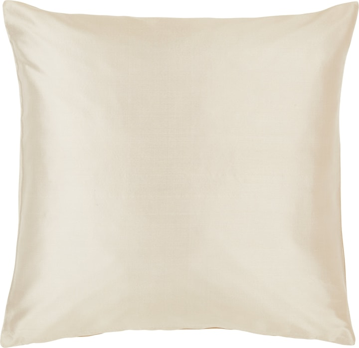 DELIA Coussin décoratif 450725740074 Couleur Beige Dimensions L: 40.0 cm x H: 40.0 cm Photo no. 1