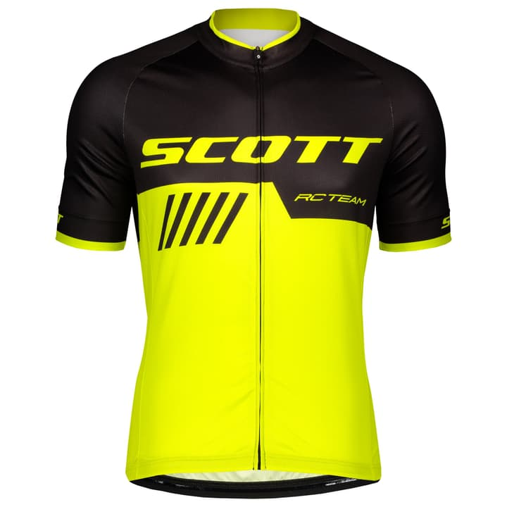 Race Team Herren-Kurzarmtrikot Scott 461372600520 Farbe schwarz Grösse L Bild Nr. 1