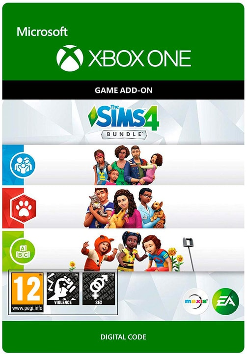Xbox One - Sims 4: Cats&Dogs, Parenthood & Todler Stuff Download (ESD) 785300141919 N. figura 1