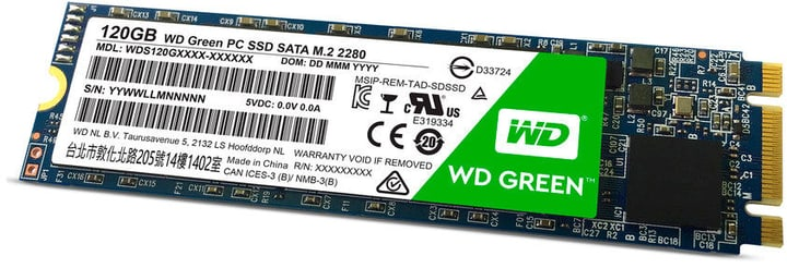 Green PC SSD intern 120GB M.2 Western Digital 785300132010 N. figura 1