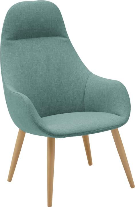 FRIEDA Sessel 402475507042 Farbe Mittelblau Grösse B: 65.0 cm x T: 74.0 cm x H: 103.0 cm Bild Nr. 1