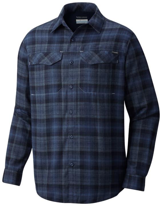 Silver Ridge™ Flannel Long Sleeve Shirt Chemise à manches longues pour homme Columbia 462712200347 Couleur denim Taille S Photo no. 1