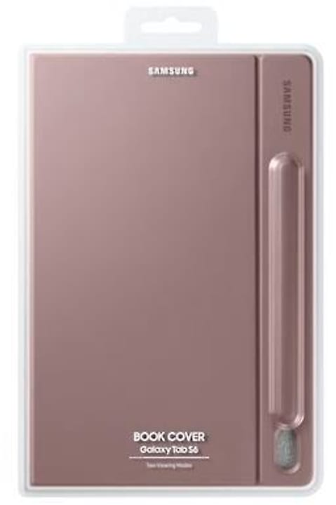 Book Cover Galaxy Tab S6 brun Cover Samsung 785300149417 Photo no. 1