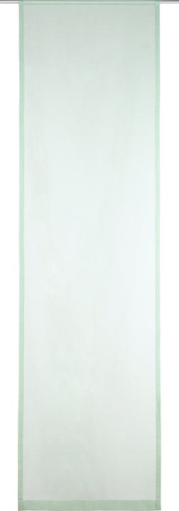SUELA Flächenvorhang 430575830461 Farbe Hellgrün Grösse B: 60.0 cm x H: 245.0 cm Bild Nr. 1