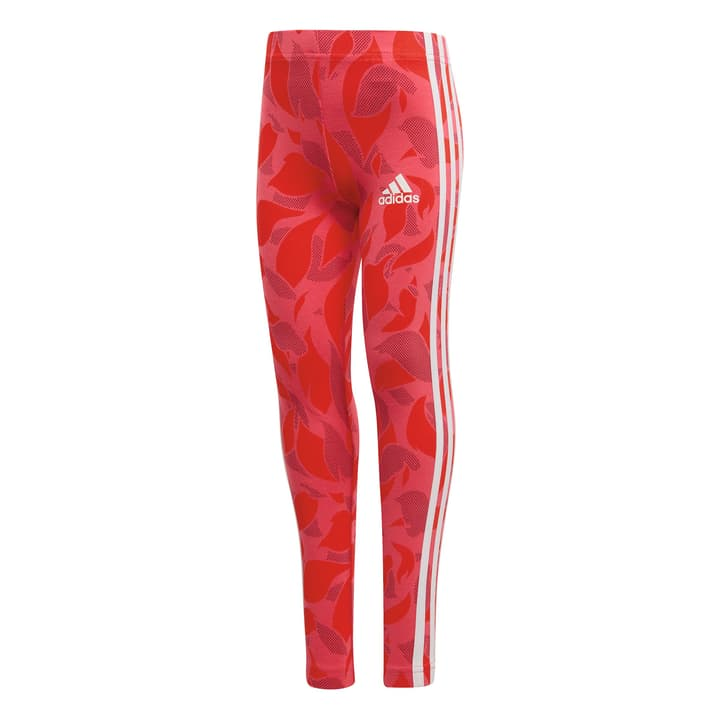Cotton Tight Leggings pour fille Adidas 472340309829 Couleur magenta Taille 98 Photo no. 1