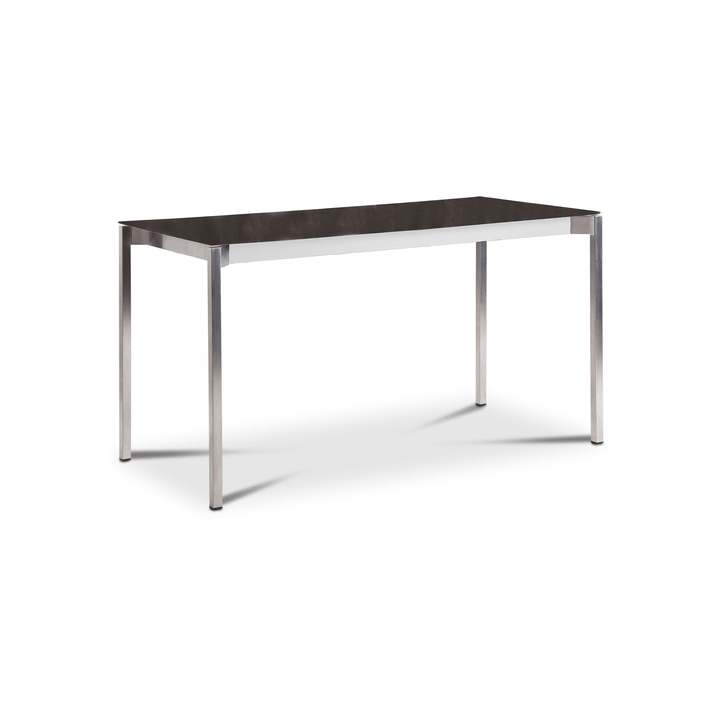 LUZON Tisch 368029300000 Grösse B: 140.0 cm x T: 80.0 cm x H: 75.0 cm Farbe Anthrazit Bild Nr. 1
