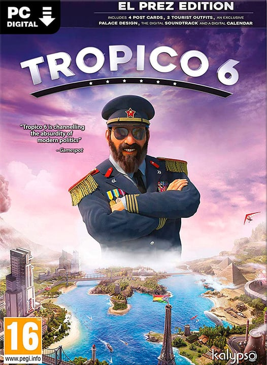 PC - Tropico 6 El Prez Edition Download (ESD) 785300143864 Photo no. 1