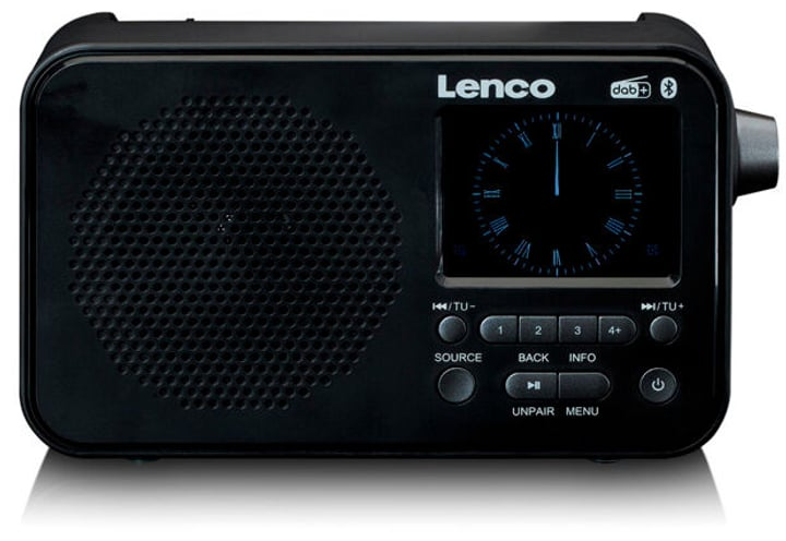 PDR-035 - Noir Radio DAB+ Lenco 785300151920 Photo no. 1