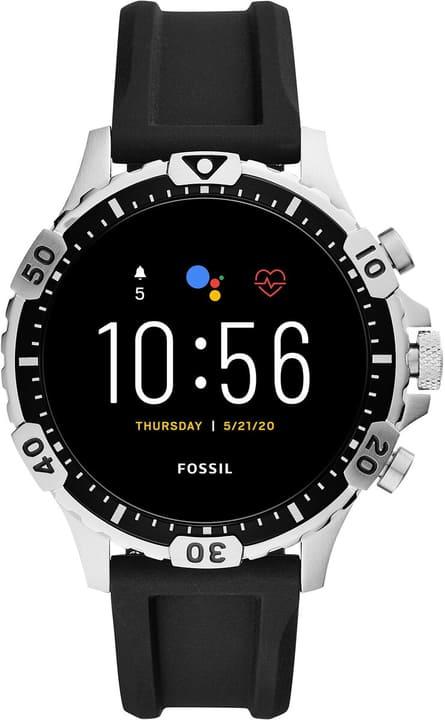 Garrett HR Silikon Silber 46mm Smartwatch Fossil 785300151288 Bild Nr. 1
