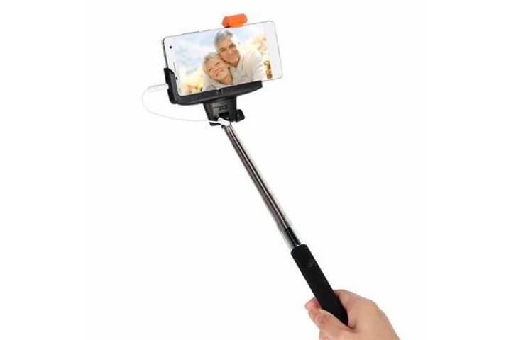 Wired Selfie Stick nero Kjstar 785300126134 N. figura 1