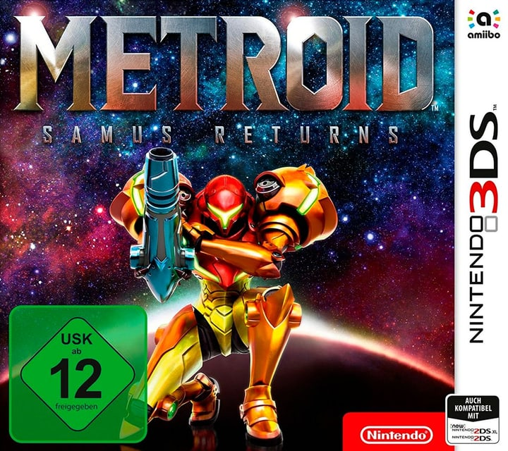 3DS - Metroid: Samus Returns Fisico (Box) 785300128760 N. figura 1