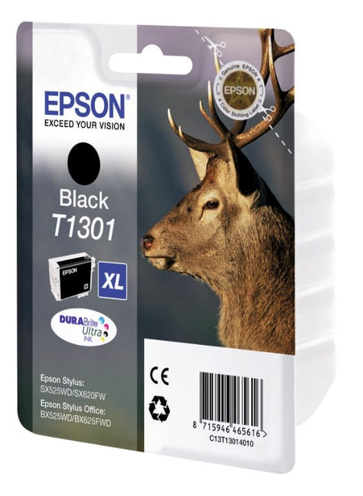 T130140 cartouche d'encre black Epson 797520400000 Photo no. 1