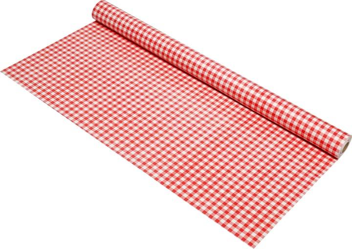 SMARAGD Tischtuch am Meter 450526363022 Farbe Rot, Weiss Grösse B: 140.0 cm Bild Nr. 1