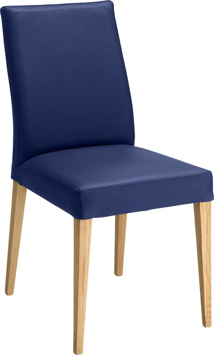 SERRA Chaise 402355500040 Dimensions L: 46.0 cm x P: 57.0 cm x H: 92.0 cm Couleur Bleu Photo no. 1