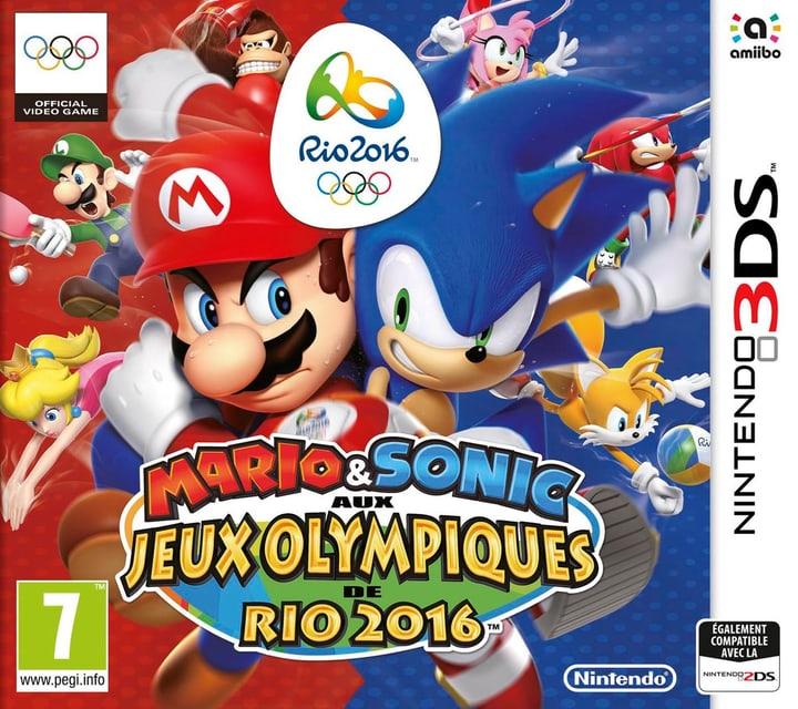 3DS - Mario & Sonic aux Jeux Olympiques de Rio 2016 785300120884 Photo no. 1